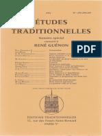 Etudes traditionnelles v52 n 293-295 jul-nov 1951 Special Rene Guenon REPRINT.pdf