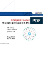 End point security - the right protection in the right place