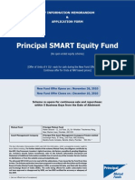 Principal SMART Equity Fund - Application Form