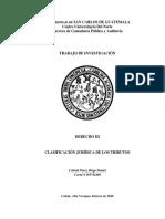 Trabajo # 5 Caracteristica jurídica de la tributación