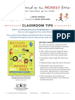 Messing Around on the Monkey Bars Poetry - Classroom Tips