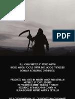 Blood Hammers booklet artwork