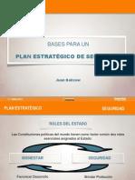 "Presentación ""Bases para un Plan Estratégico de Seguridad"" por Juan Belicow"