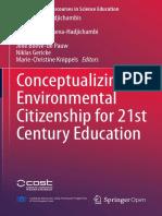 Conceptualizing Environmental Citizenship for 21st Century Education