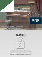 8DIO Studio Upright - User Manual