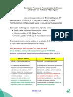 Cuadro Comparativo Decreto de Urgencia 044 2019