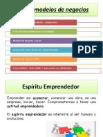 1. Las características de un Emprendedor
