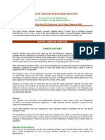 The Sa Fertiliser Industry No 2 Feb06 Afa Conf Fin