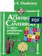 Los acertijos de Canterbury y otros problemas curiosos - Henry E. Dudeney .pdf