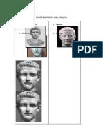 Emperadores del Siglo I