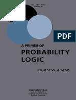 ADAMS _ A Primer of Probability Logic.pdf