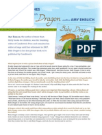 Baby Dragon by Amy Ehrlich - Q&A with Author