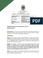 DISPOSICION DE EXCLUSION