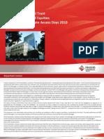FCOT-StandardCharteredEquitiesRealEstateCorporateAccessDays2010