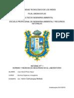juan harold PRACTICA N° 1 LABORATORIO DE QUIMICA GENERAL