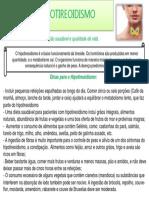 ORIENTAÇÕES HIPOTIREOIDISMO