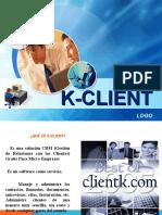 Presentación K-CLIENT