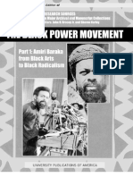 The Black Power Movement Baraka