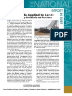 Biosolids Applied to Land, Report in Brief