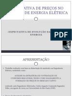 Expectativa da Evolução da Tarifa de Energia - Anderson Alvarenga