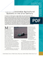 Toward Sustainable Agricultural Systems in the 21st Century, Report in Brief