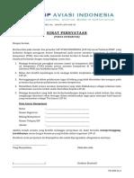 4 Formulir Pernyataan Pakta Integritas