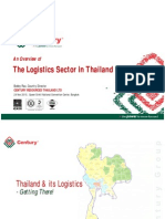 Overview of Thailand Logistics & Supply Chain Management (Bobby Rao, BKK)
