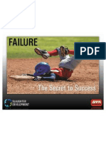 Failure - The Secret to Success