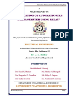 Automatic star Delta Starter Project Thesis
