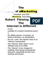 The E Marketing