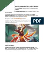 Xangô - Conheça o Orixá responsável pela justiça kármica