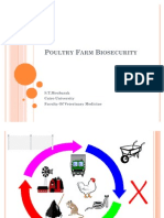 Poultry Farm Bio Security