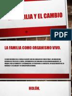LA FAMILIA Y EL CAMBIO