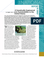 Impact of Genetically Engineered Crops on Farm Sustainability in the United States, Report in Brief