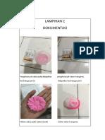dokumentasi laporan sabun