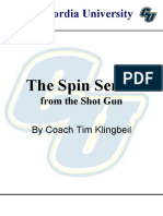 Concordia University Offense - Spin Package