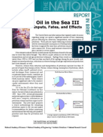 Oil in the Sea III, Report in Brief