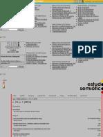 Sumário Estudos semióticosv. 10, n. 1 (2014)