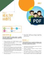 Adult Module 1 - Five Healthy Habits Facilitators Guide (English)
