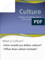 Introduction to Culture - 2003 Version