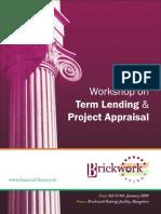 Term Lending Project Appraisal
