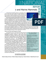 Ocean Noise and Marine Mammals, Report in Brief