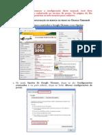 Configurar Proxy Chrome