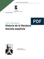 15945760 Historia de La Literatura Fascista Espanola