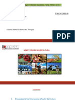 INFORME DE MINISTERIO DE AGRICULTURA 10112019