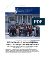 LULAC Youths Hit Capitol Hill on Day 3 of Emerge Latino Conference