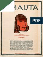 Revista Amauta - Año 1, N° 1 - Lima, setiembre 1926
