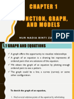 CHAPTER 1 (FUNCTIONS, GRAPHS AND MODELS