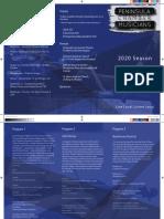 PCM 2020 brochure