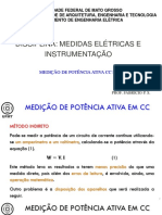 Aula 11 e 12 - Medição de potência ativa
